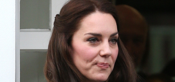 Duchess Kate wears a £1,650 Eponine coatdress in London: stunning or blah?