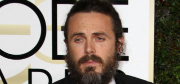 Did Sylvester Stallone tell Casey Affleck to 'get out of his face' at the Globes?