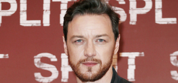 James McAvoy: 'I find that I can't drink too much whisky any more'