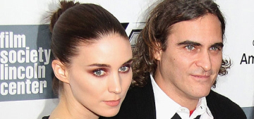 Joaquin Phoenix & Rooney Mara are falling in love over spa juices & colonics