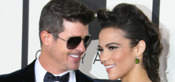Robin Thicke & Paula Patton are 'embroiled in a nasty custody fight'