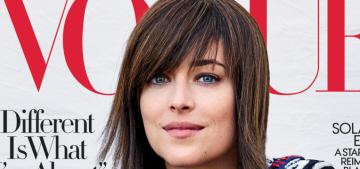 Dakota Johnson covers Vogue: 'America is still so sexually oppressed'
