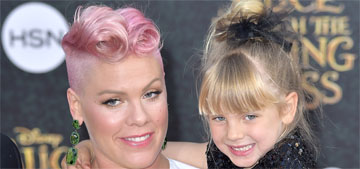 Pink threw a big sister party for her daughter Willow, 5, have you heard of that?