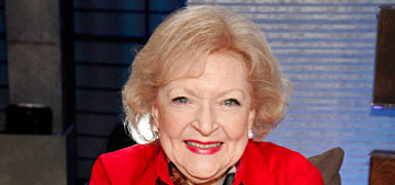 Betty White at 95: 'I am the luckiest old broad on two feet'