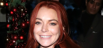 Lindsay Lohan hasn't converted to Islam she's 'educating herself'