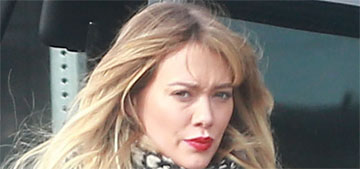 Hilary Duff has a new boyfriend and they're already going for pap strolls