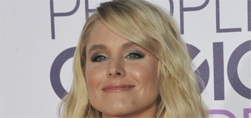 Kristen Bell in Rasario at the People's Choice Awards: 70s mermaid fail?