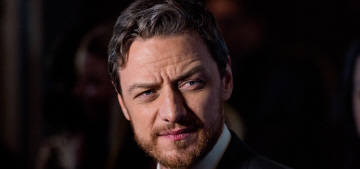 James McAvoy on the inauguration: 'I'm not American, so it's your f–king problem'