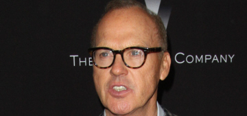 Michael Keaton reportedly told people to give Emperor Baby Fists a 'chance'