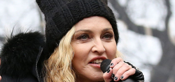 Madonna clarifies her 'blowing up the White House' comments