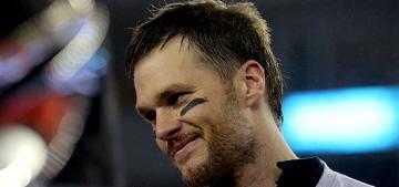 Gisele Bundchen celebrates: Tom Brady made it to the Super Bowl again