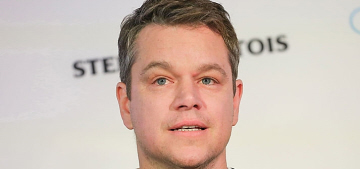 Matt Damon doesn't think Baby Fists will be 'against' clean water foreign aid