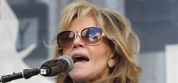 Jane Fonda: 'The predator in chief, their tactic is to divide and conquer'