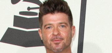 Robin Thicke's custody of his son is temporarily suspended & it gets a lot worse