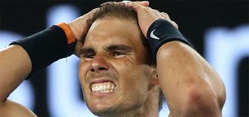 Rafael Nadal wins his AusOpen semifinal, we have a Roger & Rafa final!!