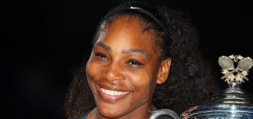Serena Williams won her 23rd Slam title at the Australian Open