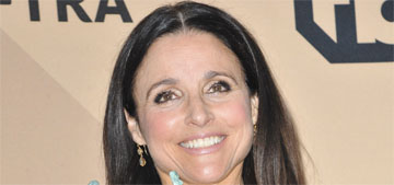 Julia Louis-Dreyfus in Lela Rose at the SAGs: righteous?