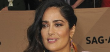 Salma Hayek is in trouble for condescending to Jessica Williams
