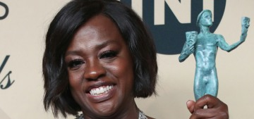Viola Davis in Vivienne Westwood at the SAGs: bridal or beautiful?