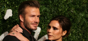 The Beckhams renewed their wedding vows in a home ceremony
