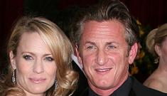 Sean Penn and Robin Wright: the divorce is off