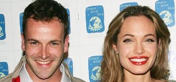 Jonny Lee Miller talks about low-T & still being friends with Angelina Jolie