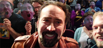 Nicolas Cage crashed a film festival dedicated to him and read Tell Tale Heart