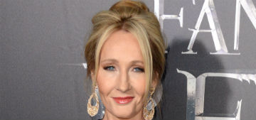 J.K. Rowling brought the extinguisher to a Trumpette's book burning on Twitter