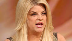 Kirstie Alley is crushed that Jenny McCarthy got Oprah talkshow deal, not her