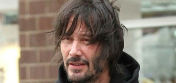 Keanu Reeves has mastered the art of scruffy hotness: would you hug it?