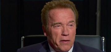 Donald Trump got up this morning to tweet about Arnold Schwarzenegger