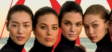 Ashley Graham finally scored a US Vogue cover, but she had to share it