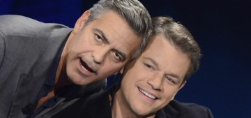 Matt Damon 'almost cried' when George Clooney told him about the twins