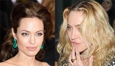 Angelina Jolie thinks 'nemesis' Madonna adopts for fame