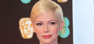 Michelle Williams in Louis Vuitton at the BAFTAs: super-cute or tedious?
