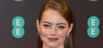 Emma Stone in a two-piece Chanel at the BAFTAs: interesting or bizarre?