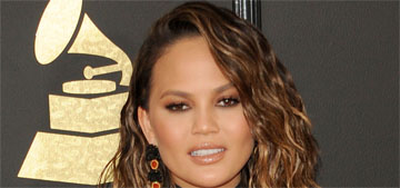 Chrissy Teigen in Roberto Cavalli at the Grammys: lovely or forgettable?