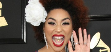 Joy Villa wore a 'Make America Great Again' dress at the Grammys: ugh?