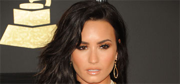 Demi Lovato in Julien MacDonald at the Grammys: cool or tacky?