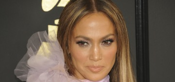 Jennifer Lopez in Ralph & Russo at the Grammys: lovely or boring?