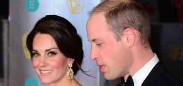 Duchess Kate & Prince William shut down the entire BAFTA red carpet