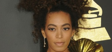 Solange Knowles tweets-and-deletes some shade about the Grammys