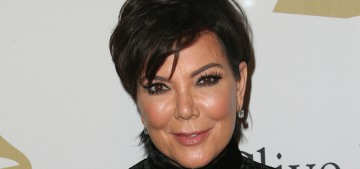 Kris Jenner has some plump new cheeks: what did she do to herself?