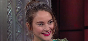 Shailene Woodley wants a mugshot redo: I would have made a tough face