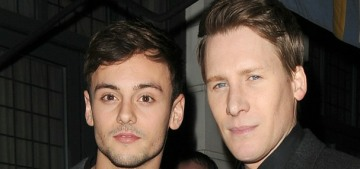 Tom Daley allegedly cheated on his fiance Dustin Lance Black… like, a lot