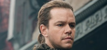 Matt Damon's 'The Great Wall' is a box office bomb in North America