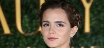 Emma Watson in Emilia Wickstead at UK 'Beauty' premiere: elegant or blah?