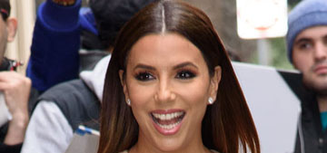 Eva Longoria gets her hair dyed every two weeks, has been gray since 18