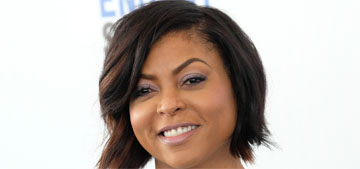 Taraji P. Henson in Giambattista Valli at the Spirit Awards: pretty or mullet fug?