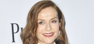 Isabelle Huppert in a Chloe pantsuit at the Spirit Awards: pajama chic or comfortable?
